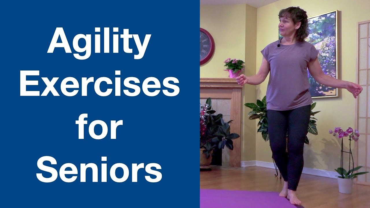 Agility Exercises for Seniors #SHORTS