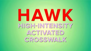 How to Use the College Avenue HAWK Signal Crosswalk