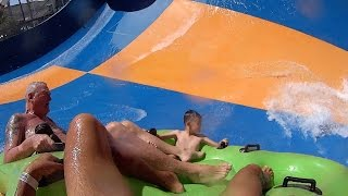 tornado water slide at wet n wild las vegas