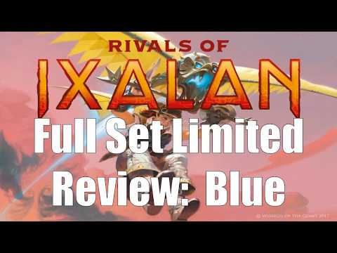 Rivals of Ixalan Full Set Limited Review:  Blue