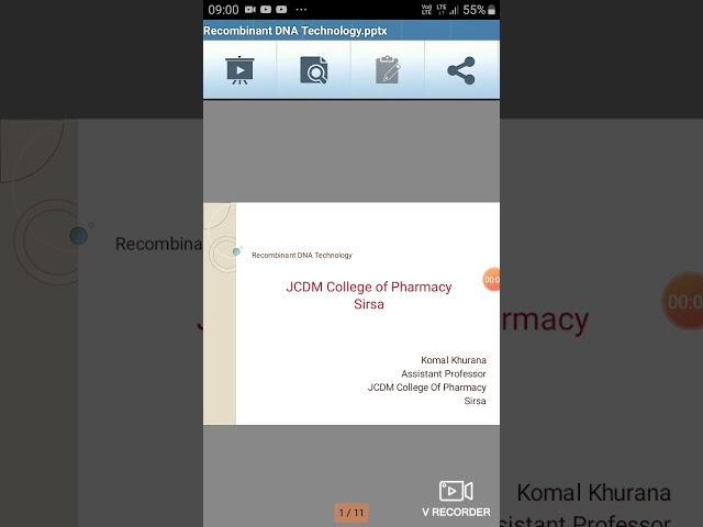 Recombinant  Technology by Mrs.komal