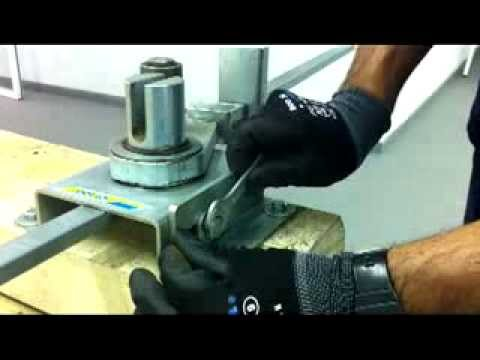 How To Use A Manual Stirrup Bender Sima Uk Youtube