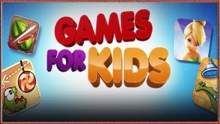 Top 10 Kids Games For iPhone, iPod And iPad