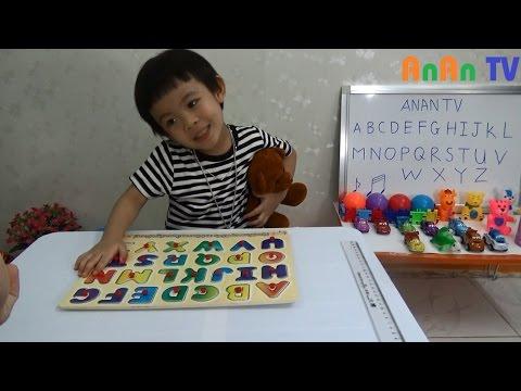 Bé học chữ cái tiếng anh - Bảng chữ cái tiếng anh cho bé