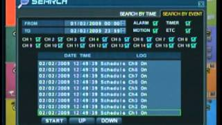 How to Search & Archive on Digimaster DVR (MPEG-4 Models) Training