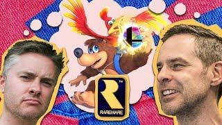 Banjo-Kazooies Creators - Super Smash Bros Reveal Interview!