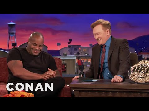 Why Daniel Cormier Almost Cancelled His CONAN Appearance   CONAN on TBS