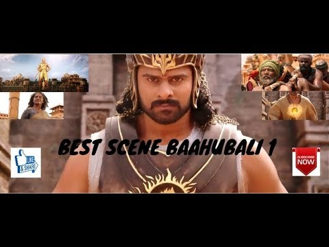 Best scene from Baahubali 1 | Baahubali return to mahishmati |Check game in description.