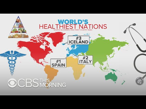Spain tops Bloomberg's list of world's healthiest nations