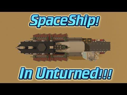 SPACESHIP IN UNTURNED!!! (NO MODS!!!)