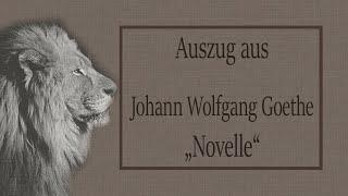 "Johann Wolfgang Goethe – ""Novelle"" (Auszug)"