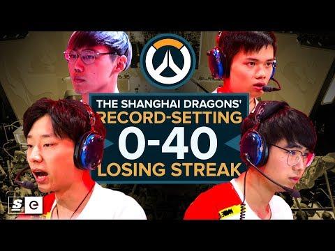 The Shanghai Dragons' record-setting 0-40 losing streak (Overwatch)