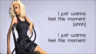 Pitbull ft Christina Aguilera   Feel This Moment LYRICS