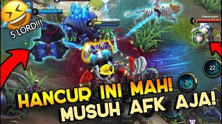Ngakak PARAH INI Mobile Legend Sampe Hancur Gini!