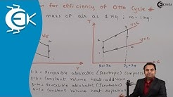 Expression for Efficiency of Otto cycle - Gas Power Cycles - Thermodynamics