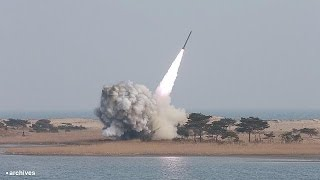 كوريا الشمالية تطلق صاروخين بالستيين    18-3-2016