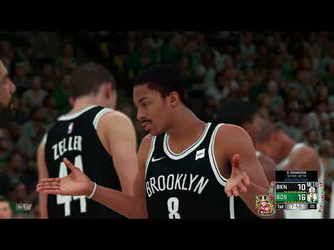 NBA 2K18 Brooklyn Nets vs Boston Celtics New Year's Eve Special