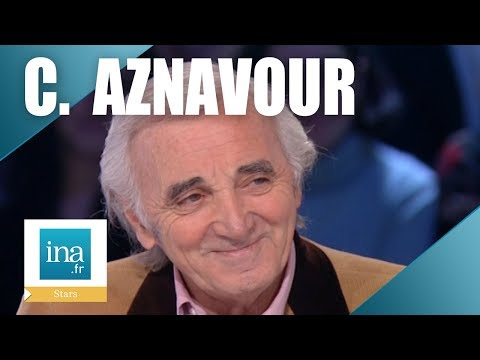 Charles Aznavour, les funérailles nationales   Archive INA