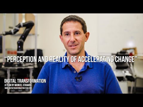 """Digital Transformation: Peter Stone on """"Perception and Reality of Accelerating Change"""""""
