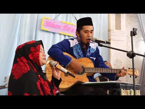 Qomarun - Musthofa Atef VERSI SHOLAWAT AKUSTIK (Cover) By Hajarussholawat