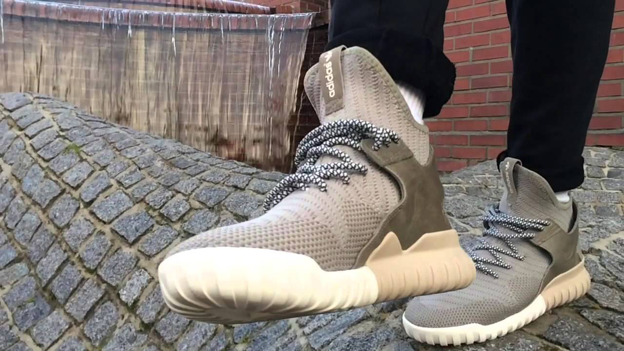 Adidas Tubular X Running White / Solid Gray