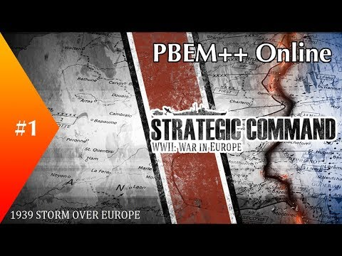 Strategic Command ► 1939 Campaign PBEM++ as Axis ► #1