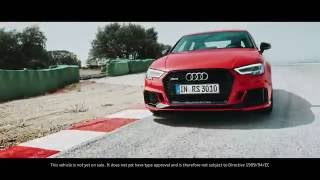 The new Audi RS3 Saloon - Pure Power