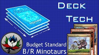 "B/R Minotaurs ""Budget"" Deck Tech Under $30 - Born of the Gods Standard!"