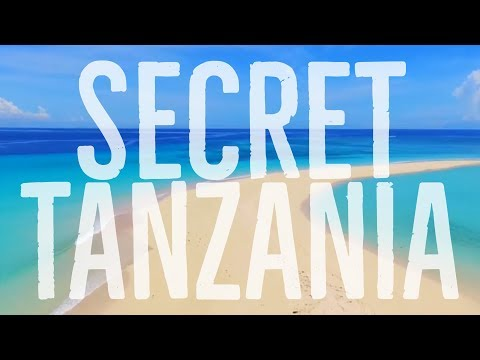 Secret Tanzania Beach From The Air