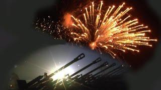 23 февраля 2015-АРТИЛЛЕРИЙСКИЙ САЛЮТ -День защитника ОтечестваКАНАЛ