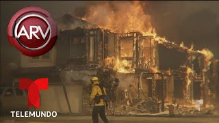 Nuevo incendio se propaga sin control en California   Al Rojo Vivo   Telemundo
