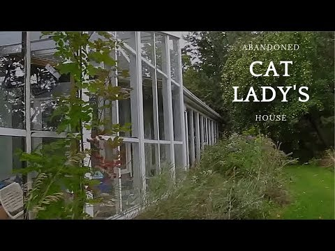 Urban Exploration: Abandoned Cat Lady's House