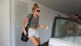 Miley Cyrus & Her Hot Pants Are Ready For Summer [2012]