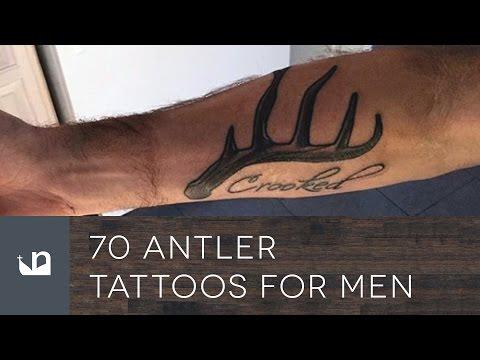 70 Antler Tattoos For Men
