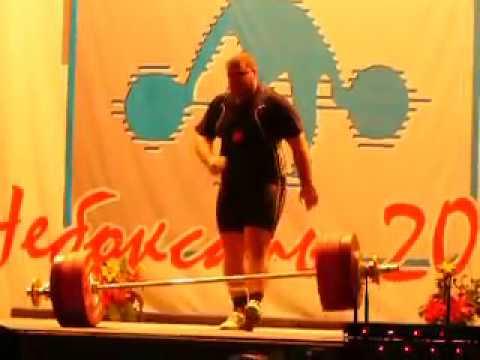 Andrey Kozlov - Snatch 188 kg