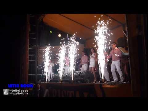 Club TENNIS 27/10/12 - LOS VALENCIA - LATIN ROCK (EFECTOS PIROTECNICOS Y LANZAPAPELES)
