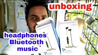bluetooth headphone music unboxing bluetooth earphones unboxing bluetooth headphones