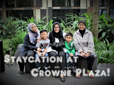 Vlog | Crowne Plaza Hotel, Changi Airport