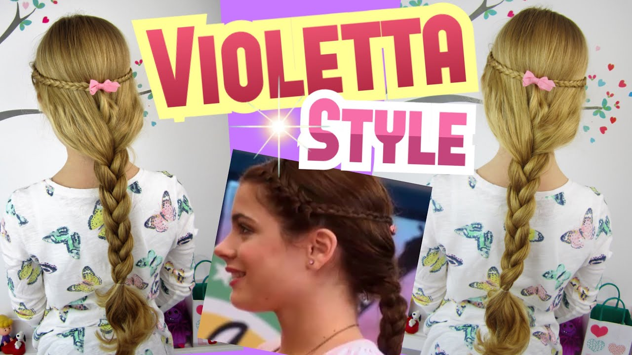 Violetta Frisur No1mini Französische Zöpfecoole Mädchen