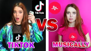 TIKTOK VS MUSICALLY