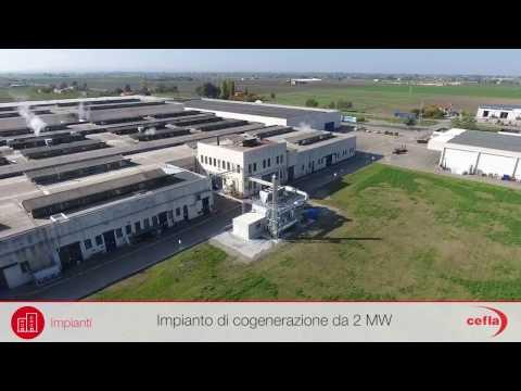 Case History Conserve Italia: un nuovo impianto di cogenerazione | Cefla Impianti