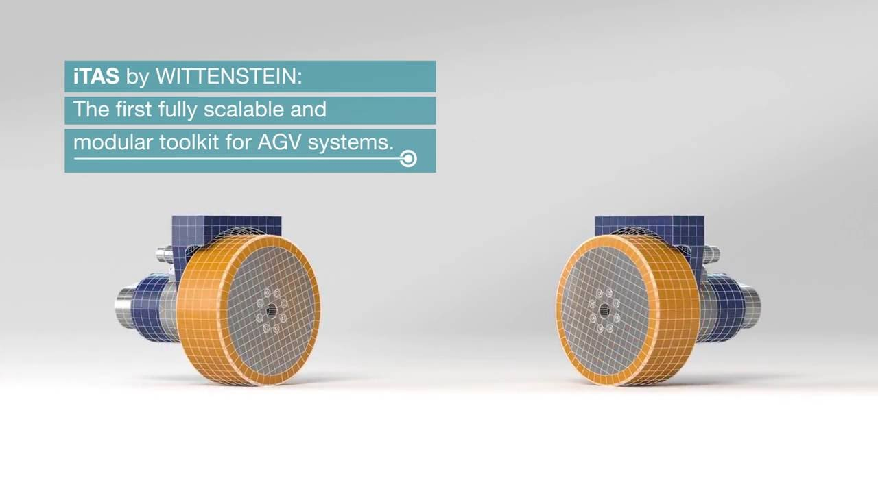 Itas Servo Drive System For Automated Guided Vehicle Agv Systems Youtube