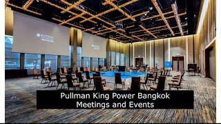 풀만킹파워 방콕호텔 컨벤션홀