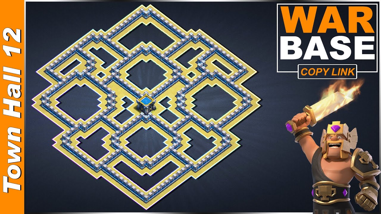 Download New BEST! TH12 War Base with Link 2020 | TH12 base anti 3 star | Clash of Clans