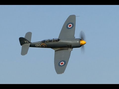 Amazing Hawker Sea Fury T20 Display