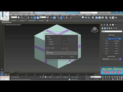 Học 3Dmax Cơ bản BÀI 04