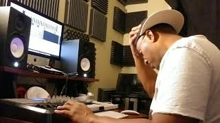 Making Soul RnB Beat Production Live In The Studio With Bobby Washington
