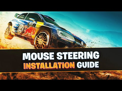 DiRT Rally | Mouse Steering (Tutorial)