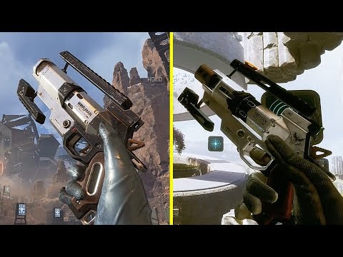 Apex Legends vs Titanfall 2 Weapon Comparison