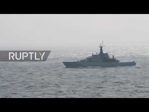 UK: Russian vessels pass through English Channel